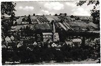 Ansichtskarte Wölchingen in Baden - Ortsansicht mit Kirche - schwarz/weiß