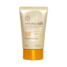 [THE FACE SHOP] Natural Sun Eco Power Long Lasting Sun Cream - 50ml (New)
