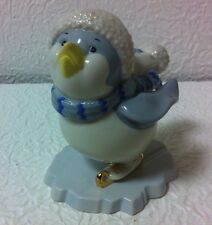 Lenox Ice Skating Penquin Figurine New