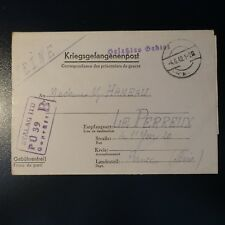 LETTERA PRIGIONIERO DA GUERRA STALAG II-D 04.06.42 KRIEGSGEFANGENENPOST POW