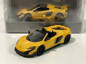Minichamps 870154521 McLaren 57 GT Orange 1:87 Scale