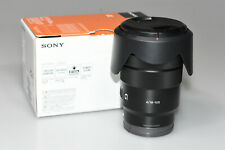 Sony G-Series E PZ 18–105 mm F4 G OSS Lens for Sony (SELP18105G)