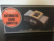 Buxton Automatic 2 Deck Card Shuffler Poker Texas Hold'em Black Jack