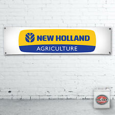 1700 x 430mmm  NEW HOLLAND TRACTOR  Banner heavy duty workshop, garage mancave