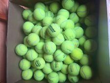 15 used tennis balls