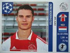 Panini 258 Derk Boerrigter Ajax Amsterdam UEFA CL 2011/12