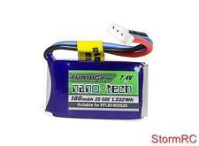 Turnigy 180mAh 2S 25C Lipo E-flite Micro Compatible Beast SBACH  EFLB1802S20