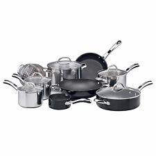 RACO Kitchen Essentials 9 Piece Cookware Set Silver Induction Stainless Steel