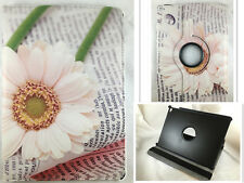 FUNDA CARCASA TABLET IPAD AIR 2 IPAD 6 GIRATORIA 360º DIBUJO FLOR