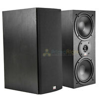 "MTX Audio Monitor60i Bookshelf Speakers 6.5"" 2 Way Loudspeaker Home Theater Pair"