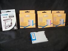 Brothers ink cartridges printers 3 blue 1 pink 1 black LD-LC51BK home office
