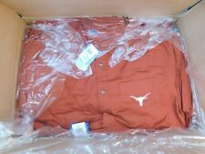 Wholesale Reseller  LOT OF  12 TEXAS LONGHORNS  BUTTON DOWN LONG SLEEVE SHIRTS