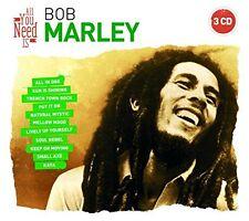 CD NEUF scellé - ALL YOU NEED is BOB MARLEY / Digipack 3 CD -C23
