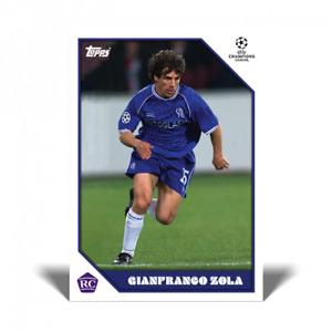 TOPPS LOST ROOKIE CARD GIANFRANCO ZOLA (CHELSEA FC) PRESALE