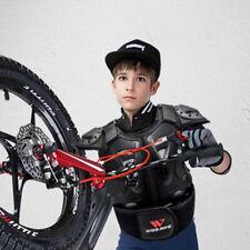 Kids Motorcycle Armor Vest Support Jacket Dirt Bike Chest Protector Black M