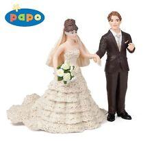 Papo 2 Figuren: Braut + Bräutigam / Brautpaar Art. 38819 + 39067 - NEU