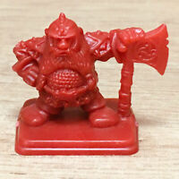 Plastic Heroquest Dwarf Common Red Warhammer Fantasy, Citadel, D&D