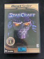 StarCraft / Brood War PC CD-ROM Portuguese Version Brazil Brasil DVD-Box RARE