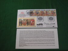 800th anniversary City of London Lord Mayor 1189-1989 Mint Stamps Signed RDL3779