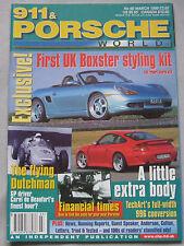 911 & Porsche World magazine 03/1999 featuring Techart, Boxster
