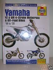 NEW HAYNES YAMAHA MANUAL YZF WR 250 400 426 YZF426 WR400 WORKSHOP REPAIR SPARES