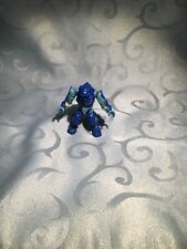 Halo Mega Bloks Blue/Teal Covenant Elite Figure from Battlescape II - Used