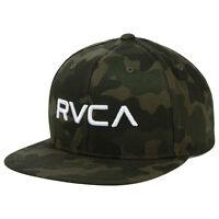 RVCA Twill Snapback III Cap/Hat Camo