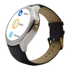 NO.1 D5+ GPS WiFi Bluetooth Smart Heart Rate Watch Phone for Android IOS Silver