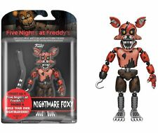 FNAF Five Nights At Freddy's Nightmare Foxy Articulated Action Figure New