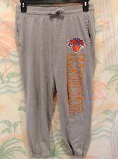 New York Knicks Women's Calf Length Sweat Lounge Pants Size L Gray NBA UNK NY