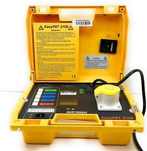 Martindale Electric Easy Pat 2000 Voltage Downloading PAT Tester