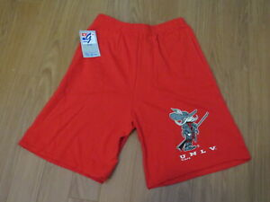 UNLV Runnin Rebels Shorts (VTG) - 1990s Screened by The Games - Mens XL (NWT)