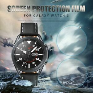 TPU Film Protective Films Screen Protector For Samsung Galaxy Watch 3 41MM 45MM