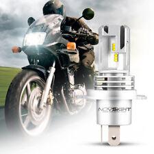 NOVSIGHT Motorcycle H4 28W 5000LM 6000K ZES LED Headlight Front Bulb Lamps White