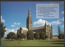 Wiltshire Postcard - Salisbury Cathedral From The North-West    B2616