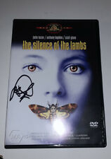 Jodie Foster SIGNED AUTOGRAPH Silence Of The Lambs DVD Movie Hand Signed