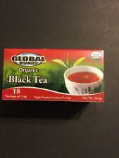 Ceylon  Organic Black Tea Sri Lanka 1 Box 18 Tea Bags New Sealed Box