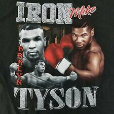 Mike Tyson Men's 2XL T-Shirt Iron Brooklyn Licensed Heavyweight Champion Boxing