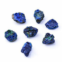 1pc Mini Azurite Malachite Mineral Specimen Natural  Crystal Healing Stone Gifts