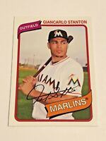 2012 Topps Archives Baseball Base Card #130 - Giancarlo Stanton - Miami Marlins