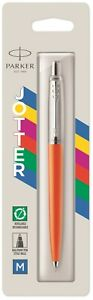 Parker Jotter  Ballpoint Pen Orange Original  New In Pack 2076054 Made In France