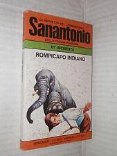 ROMPICAPO INDIANO Le inchieste del commissario Sanantonio 61 Mondadori 1975 di
