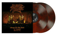 KING DIAMOND - SONGS FOR THE DEAD LIVE - ROOT BEER MARBLED - LIMITED 300 - 2 LP