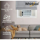 WHIRLPOOL WHAW050CW 5,000 BTU 115V Window-Mounted Air Conditioner photo