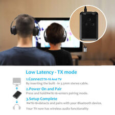 4.2 Bluetooth Transmitter & Receiver 2in1TV, Music AUX Audio Adapter 3.5mm