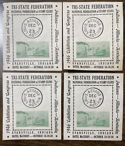 Tri-State Federation 1946 Exhibition And Congress Label