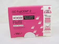 Dental GC Fuji Cem Refill 2 Paste Pak Automix Compatible CARTTEIDGE cement