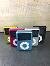 NEU! MP3 Player Aluminium mit Display und Speaker AUX Micro SD bis 32GB WOW!!!