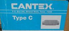 CANTEX 5133105 Conduit Body, TYPE C, 1 1/2In , PVC