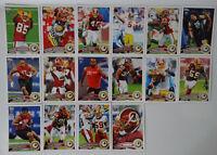 2011 Topps Washington Redskins Team Set of 16 Football Cards